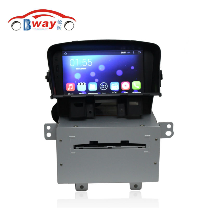 Free Shipping Bway android 4.4 Car radio for CHEVROLET CRUZE / DAEWOO LACETTI dvd player with GPS,3G,wifi,1G RAM,16G iNand high quality car central station mat sticker for chevrolet cruze black 1pcs free shipping kl12329