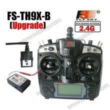 FlySky 2 4Ghz 9CH FS TH9X B TH9B TX Transmitter FS R8B Receiver Radio Control for