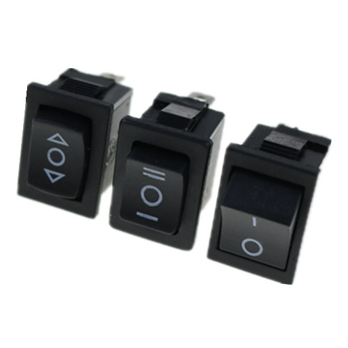 цена на Promotion! 1 pcs SPDT Mini Black 3 Pin Rocker Switch AC 6A/250V 10A/125V KCD1