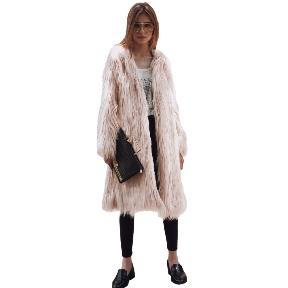 Compare Prices on Pink Fur Coat- Online Shopping/Buy Low Price ...
