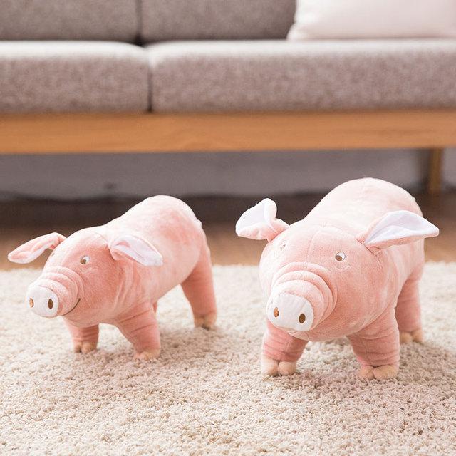 Cute Pig Plush Dog Toy  3