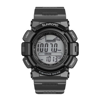 цена на SUNROAD Men's Digital Sports Watch-Fishing Barometer Altimeter Climbing Hiking Running Camping Women Watches