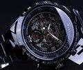 Vencedor Relógio Mecânico Automático Dos Homens Relógios Top Marca de Luxo Homens Relógio Do Esporte Relógio Militar Erkek Kol Saati Relógio Montre Homme
