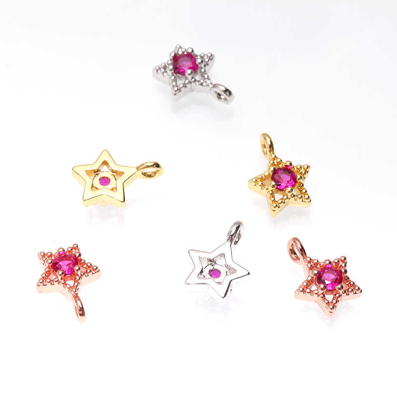 星ムーン形のチャームペンダントdiyのジュエリーネックレス & ブレスレット作るファッションレディースチャームアクセサリー