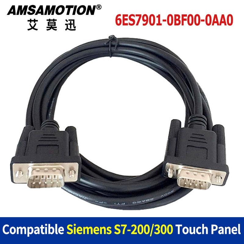 6ES7901-0BF00-0AA0 Suitable Siemens S7-200/300 Series PLC Connect Siemens HMI Touch Pane ...