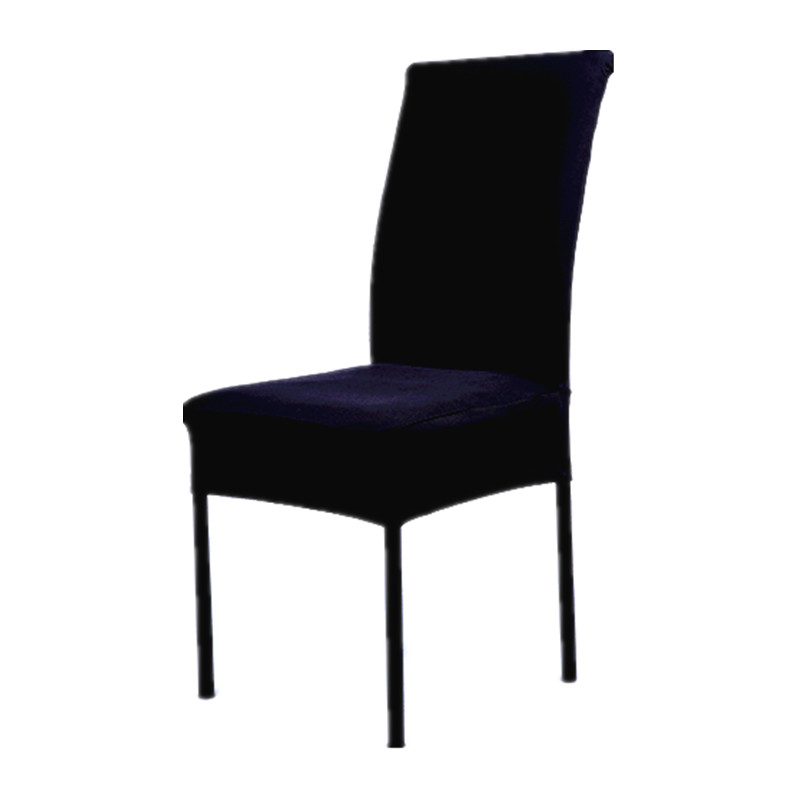 Black Polyester Spandex Dining Chair Covers For Wedding ...