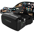 Оригинальный 3D VR Shinecon 1.0 Виртуальной Реальности Коробка Очки Маски Шлем Для 4.7-6.0 iOS Android Phone + Remote Игровой Геймпад 2.0