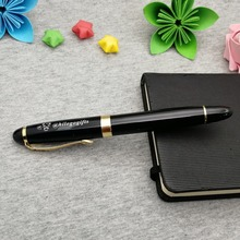 Fat writing pen CEO LOVE sign with gold clip 50g/pc custom any logo text and brand best gift for business partners