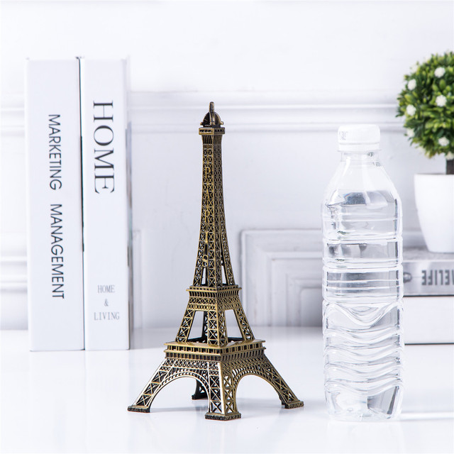 Bronze Eiffel Tower Decor zinc alloy Metal Home Decoration Improvement Gift 2