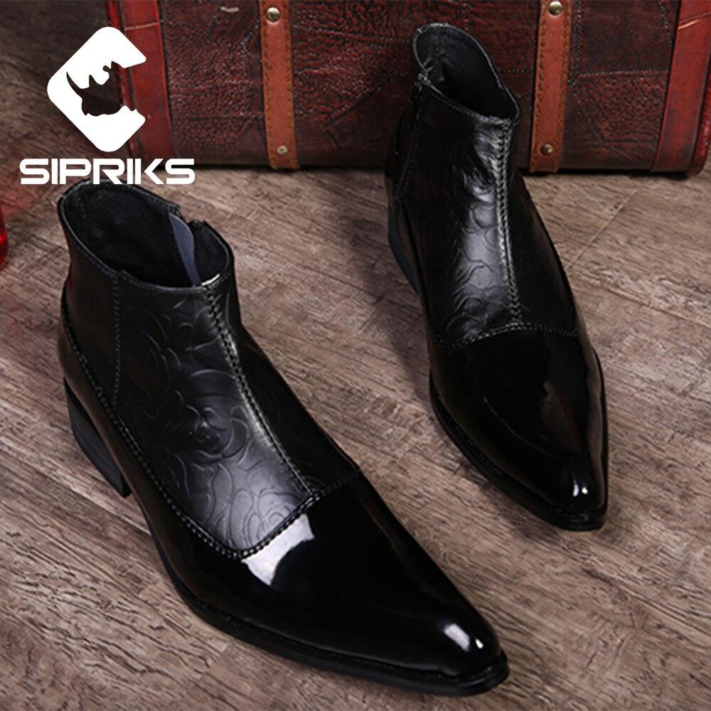 Online Get Cheap Elegant Black Boots Men -Aliexpress.com | Alibaba ...