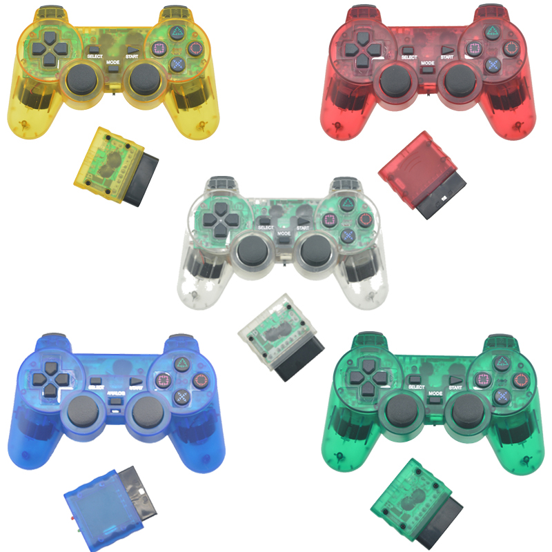 Wireless Controller JoyPad For PS2 Game Console Bluetooth Mando Jogos Manette Controle Joystick Gamepad For Sony Playstation 2 image