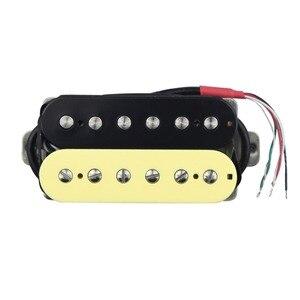 Image 4 - FLEOR Alnico 5 Humbucker Pickup Double Coil Electric Guitar Pickup Neck or Bridge Zebra Color