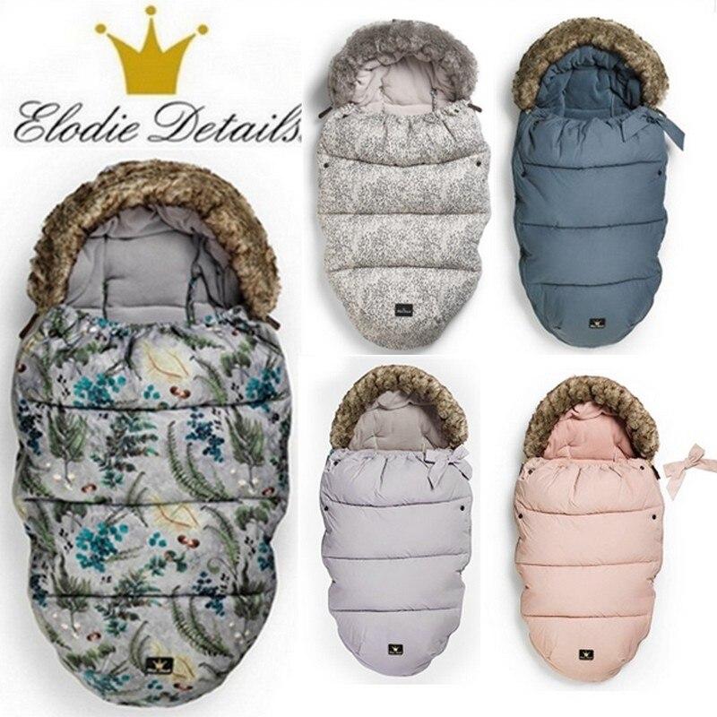 Elodie Details Baby sleeping bag windproof Baby Stroller bunting 0-36M baby stroller footmuff Universel stroller Sleeping Bag