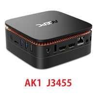 Mini PC Computer Windows 10 Office Software Computer 4G RAM Intel Celeron Apollo Lake J3455 HTPC 12V HDMI WiFi 4K HDD USB3.0