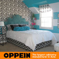 Moda festoneado WB-RL160055 cabecero de cama De Tela para muebles de dormitorio