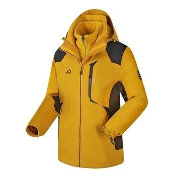Couple Lovers Warm Winter Outdoor Jacket Men Army Sportswear Thermal Hunt Jackets Women Hiking Sport Hoodie Coat AA52072