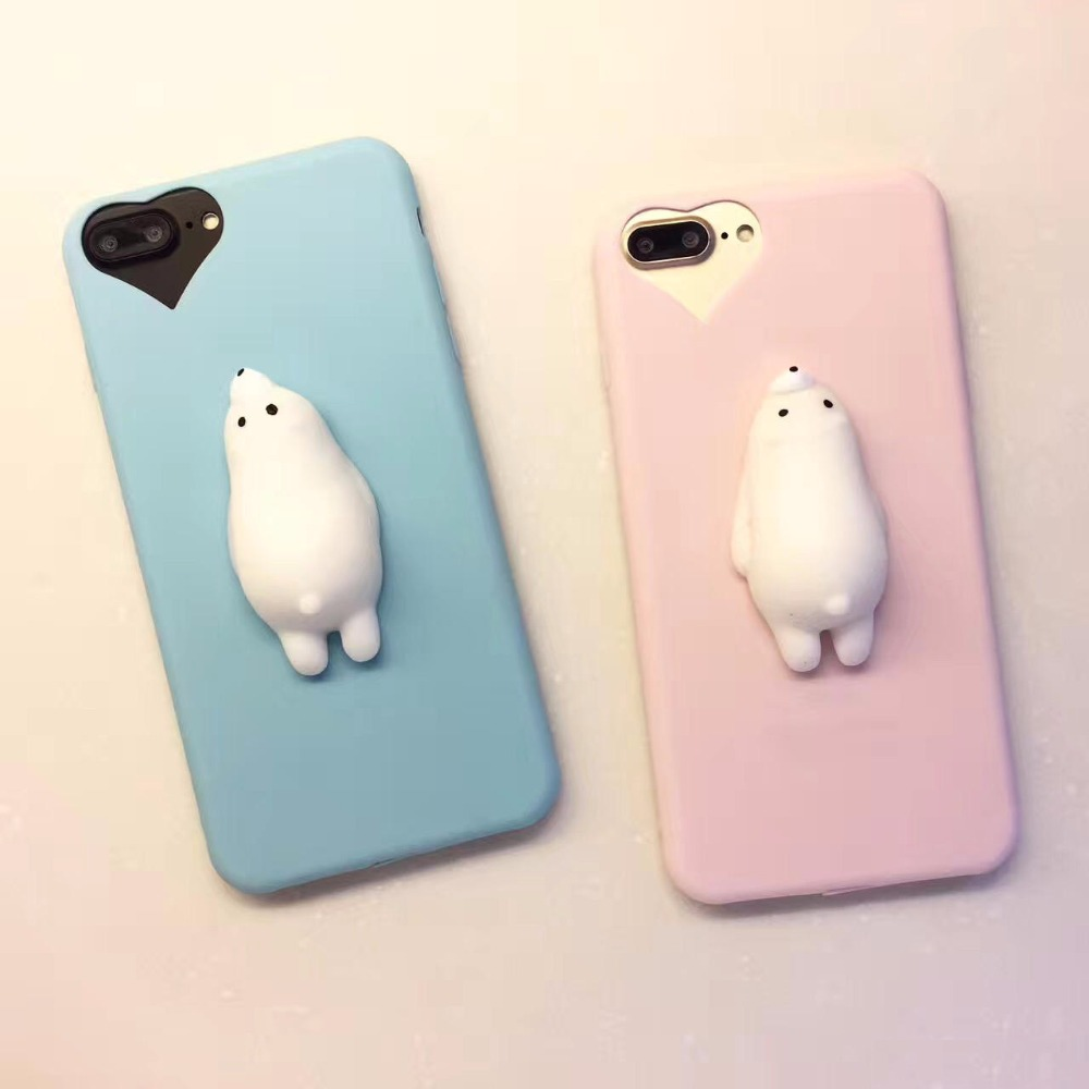 Iphone 6 squishy case - Aliexpress Com Buy Squishy Mobile Phone Cases 3d Cute Bear Phone Cover For Iphone 6s 6 6 Plus 7 7 Plus 5 5s Se Case Soft Silicone Gel Shell From Reliable