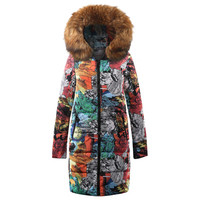 coats and jackets women Winter Long Down Cotton Ladies Parka Hooded Quilted Outwear jacket women 2018Oct11
