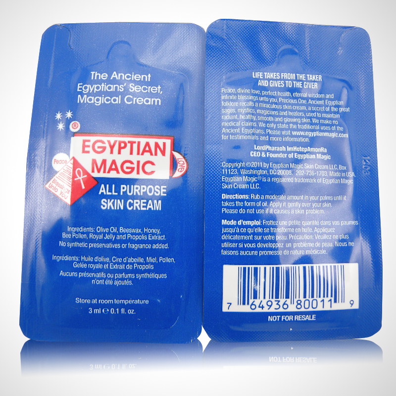 Online Shop Egyptian magic cream dehydrate 3ml trial pack small ...