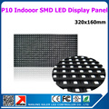 Вел крытый полноцветный модуль p10 SMD 32X16 пикселей 1/8 сканирования оптовая крытый rgb светодиодные панели 320 х 160 мм