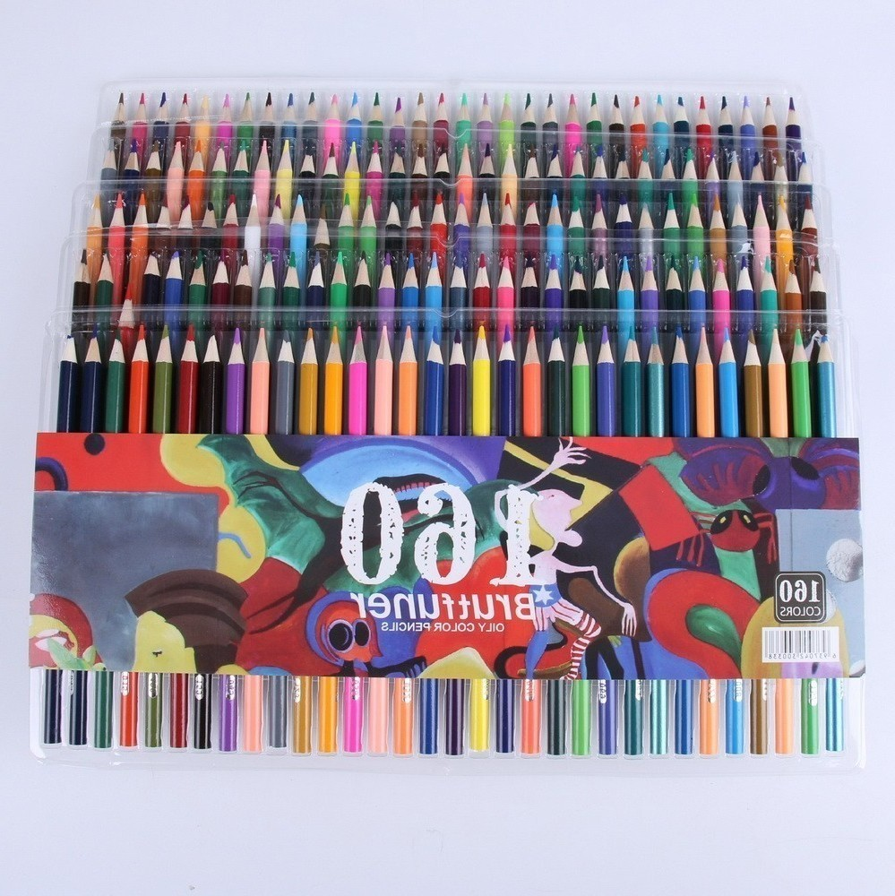 Hot new products LSH 160 smooth oily water-insoluble pencil bright comics graffiti color lead school supplies HOT hot sale hot new products lsh genuine 120 pencil cute oily water insoluble lead cartoon color pen graffiti school supplies new
