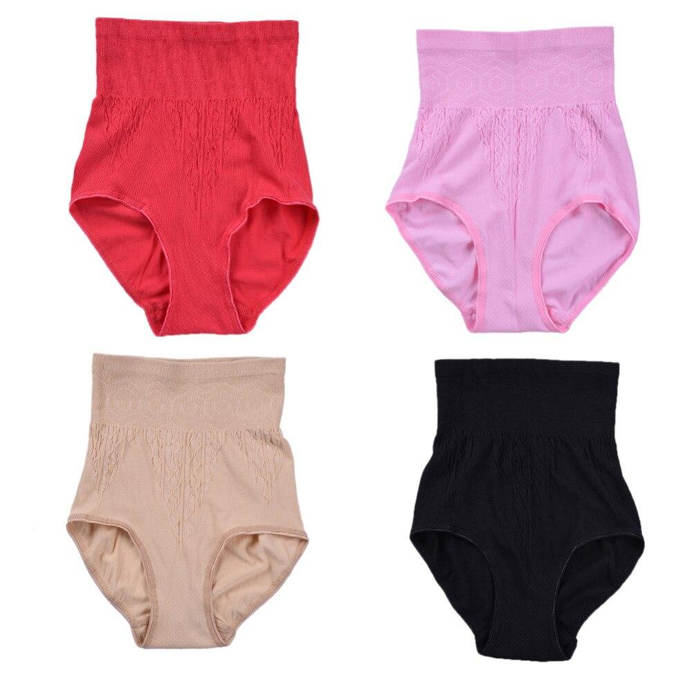 Yüksek Bel Göbek Pantolon Şort Doğum Günü İç Giyim Külot - Hamilelik ve Annelik - Fotoğraf 2