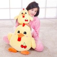 Hot 1 Pc 50CM Big One Creative Chicken 3 Design Soft PP Cotton Stuffed Plush Toys