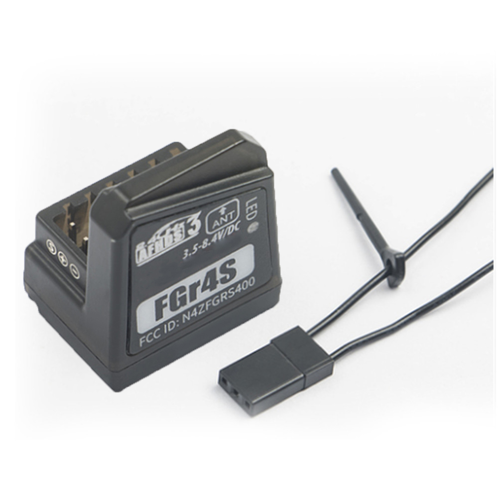 For Flysky FGR4S Built-in Single-antenna Bidirectional Receiver PPM/IBUS/PWM Output Suitable for NB4 Remote Control PartsFor Flysky FGR4S Built-in Single-antenna Bidirectional Receiver PPM/IBUS/PWM Output Suitable for NB4 Remote Control Parts