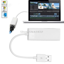 USB 2.0 Ethernet adapter 10/100 Mbps USB 2.0 to RJ45 Lan Network Ethernet Adapter Card For Mac OS Android Tablet PC Win 7 8 XP