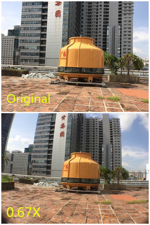 Zoom Optical Lens 4 in 1 Mobile Phone Telescope 9X Telephoto fish eye wide angle macro camera lens for iphone7 6 5 huawei lenovo 1