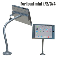 Flexible Wall Mounted And Desktop Mounted Tablet Anti Theft Display Stand Case For Ipad Mini 1