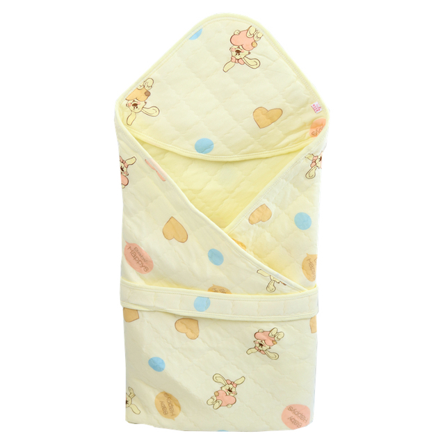 Baby Cotton Blanket Infant Bebe Sleeping Bag Swaddle Envelope  Newborn Baby Blankets Wrap Sleepsack Cartoon Baby Bedding Blanket