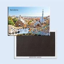 FREE shipping over $12 Spain Barcelona City Casa Batllo Strange Building Fridge Magnet 5359