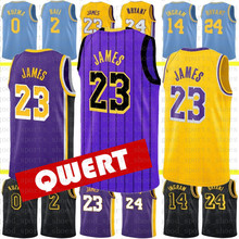 2af04442593 Top Men lebron 23 lebron james JERSEY 2 lonzo ball 0 kyle kuzma 14 brandon  ingram 24 bryant JERSEYS