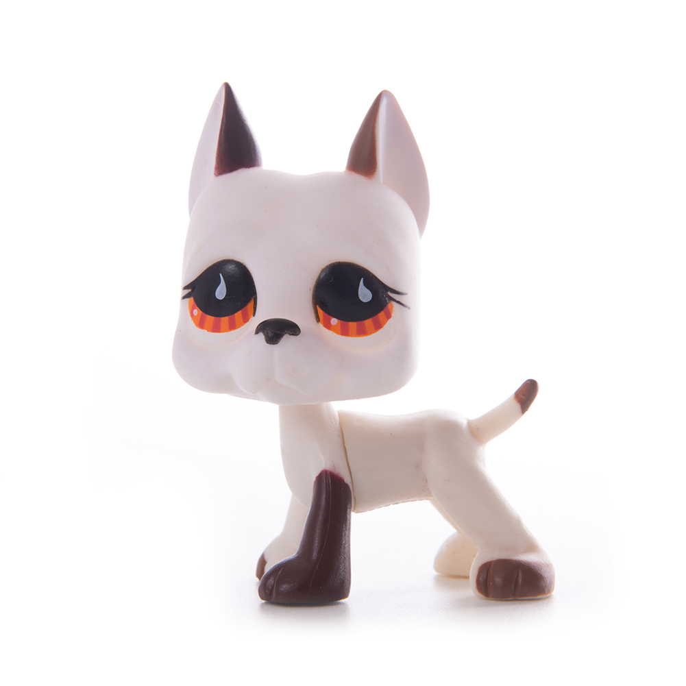 Lps Pet Shop Toy cat Gray face gray Great Dane toys Free Shipping Short Hair PVC Model Action Figure toys for children Best Gift in Action Toy Figures from Toys Hobbies