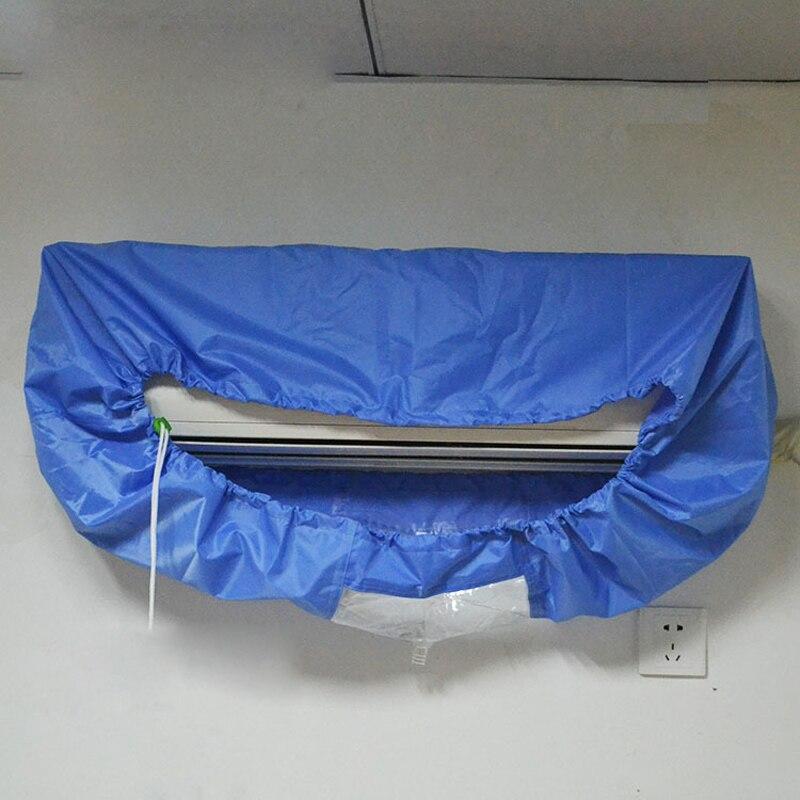 Casa Condizionatore D'aria di Pulizia Impermeabile antipolvere Copertura Per Il Lavaggio Lavaggio Pulizia della Famiglia Tools Materiale Impermeabile