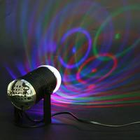 Mini RGB LED Lamp 3W Colorful Magic Bulbs 220V LED Stage Club Party Bar Disco PUB