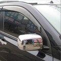 ABS Хромированная Боковая дверь заднего вида зеркала Накладка для автомобиля моделирование для Nissan X-Trail X Trail T31 2008 2009 2010 2011 2012 2013