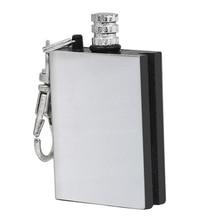 цена на Cigarette Cigar Metal Match Flint Gas Oil Lighter Fire Starter Flintstone stone firesteel Camp Hike tool bushcraft travel Kit