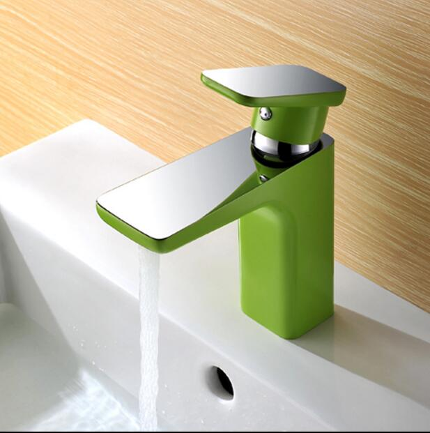 new arrival high quality brass green and chrome finished single lever bathroom single lever sink tap basin faucet niko 50pcs chrome single coil pickup screws