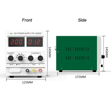 Best 1502DD Adjustable DC Power Supply 0-2A 15V Digital Display Phone Repair Power Supply Continuous Conductive DC Regulator