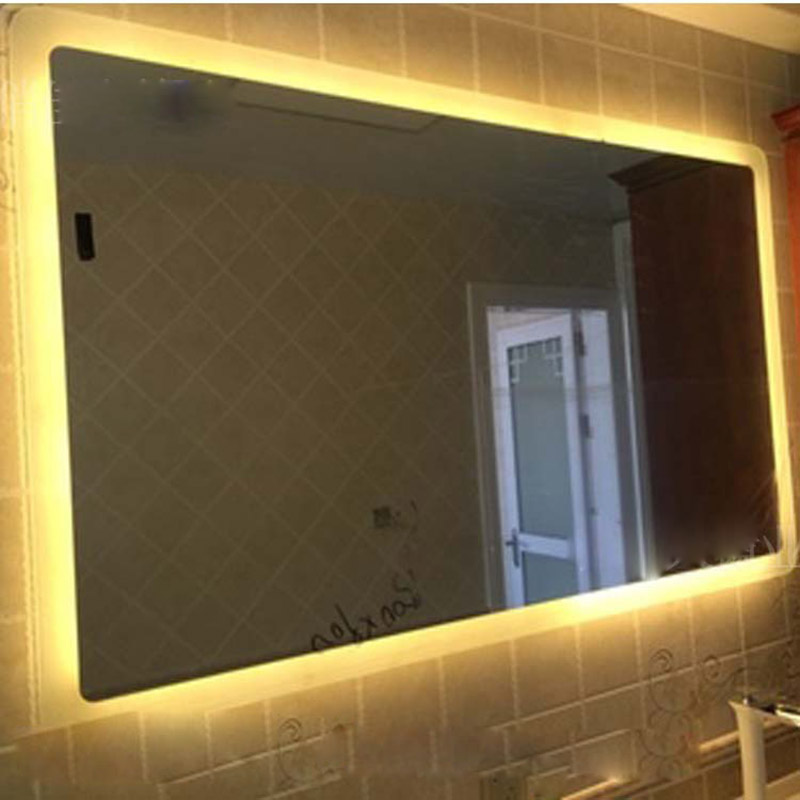 LED Light Mirror Bathroom Mirror Make up Anti fog Waterproof Touch Wall Bathroom Vanity Mirrors Dressing Enjoy Music Bluetooth 4