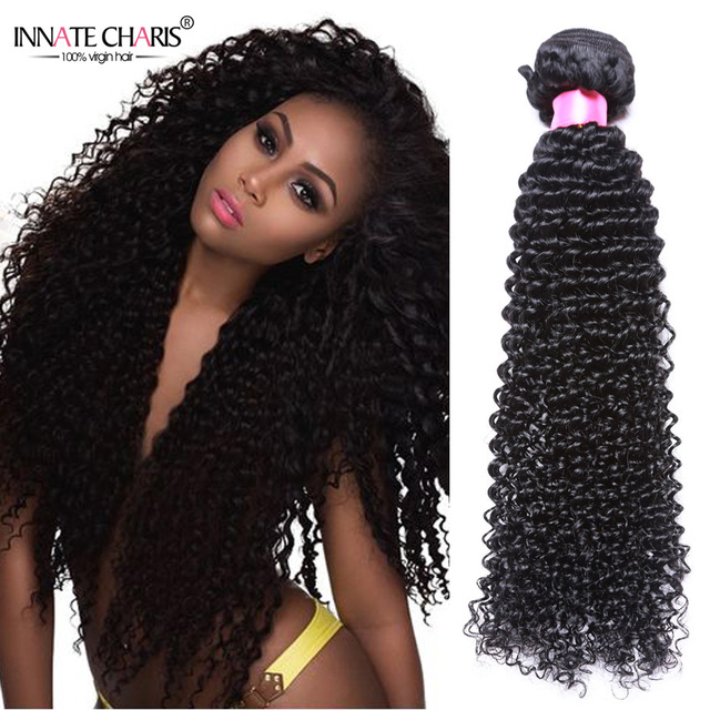 Innate Charis Curly Weave Cambodian Virgin Hair 3pcs Kinky Curly