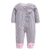 Brand Spring Autumn Animal Baby Clothes Romper Polar Fleece Newborn Clothing Infant One Piece Products
