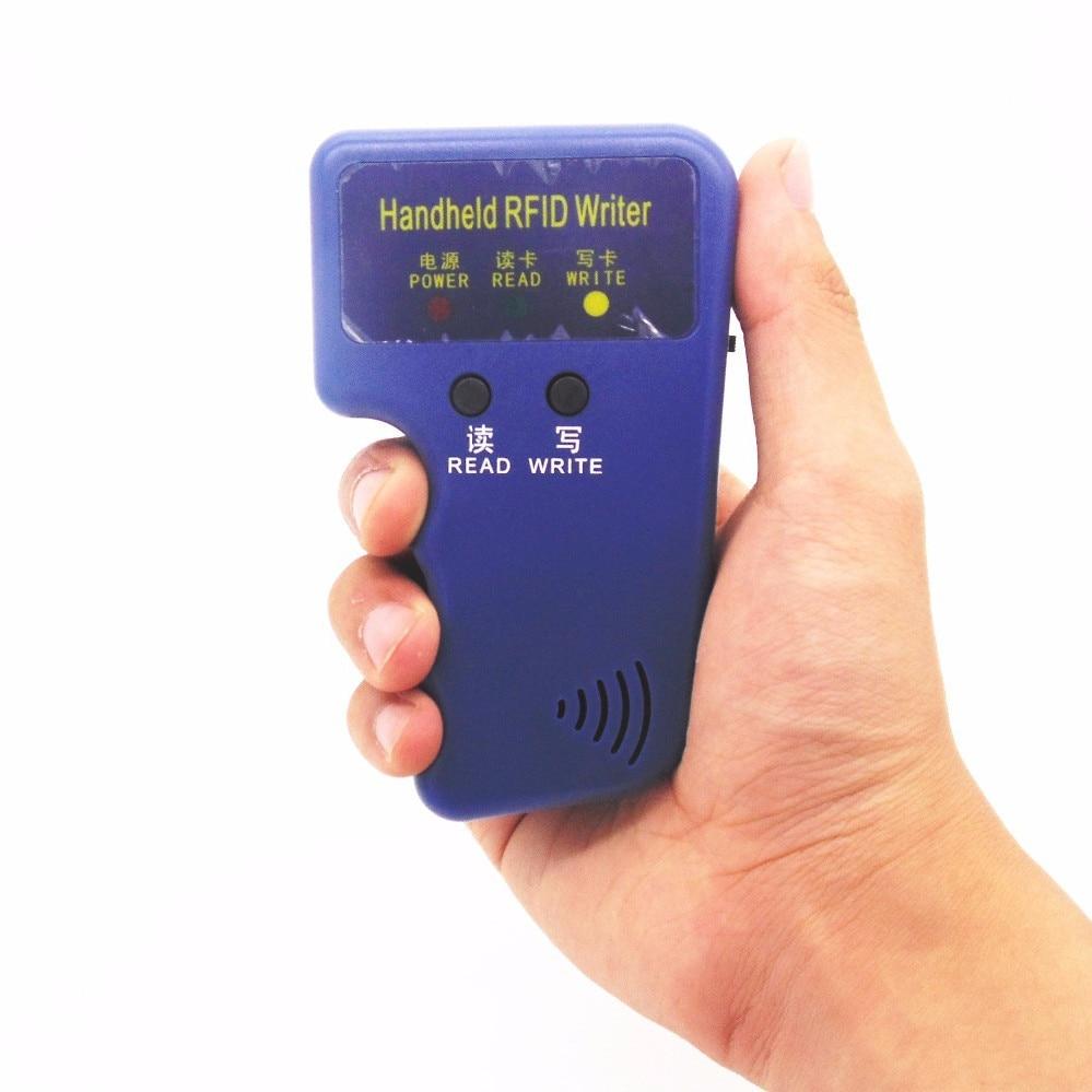 Handhållen 125 kHz kopiator RFID Smart ID-kortduplikator Används - Säkerhet och skydd - Foto 3