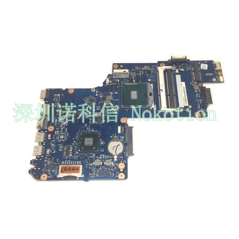 NOKOTION brand new H000052740 For toshiba satellite L850 C850 laptop motherboard HM70  Graphics free cpu nokotion for toshiba satellite a100 a105 motherboard intel 945gm ddr2 without graphics slot sps v000068770 v000069110
