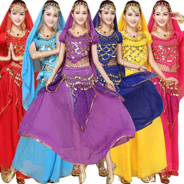 27b2401f9 Elegant Belly Dance Costumes Women Belly Dancing Costume Sets Tribal  Bollywood Costume Indian Performances Bellydance Dress