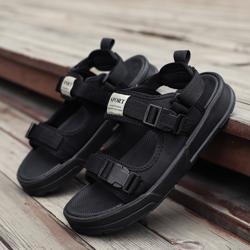 2019 Men Summer Leisure Comfortable Mesh-fabric Lightweight Shoes Outdoor Sports Sandals For Beach Hiking And Driving