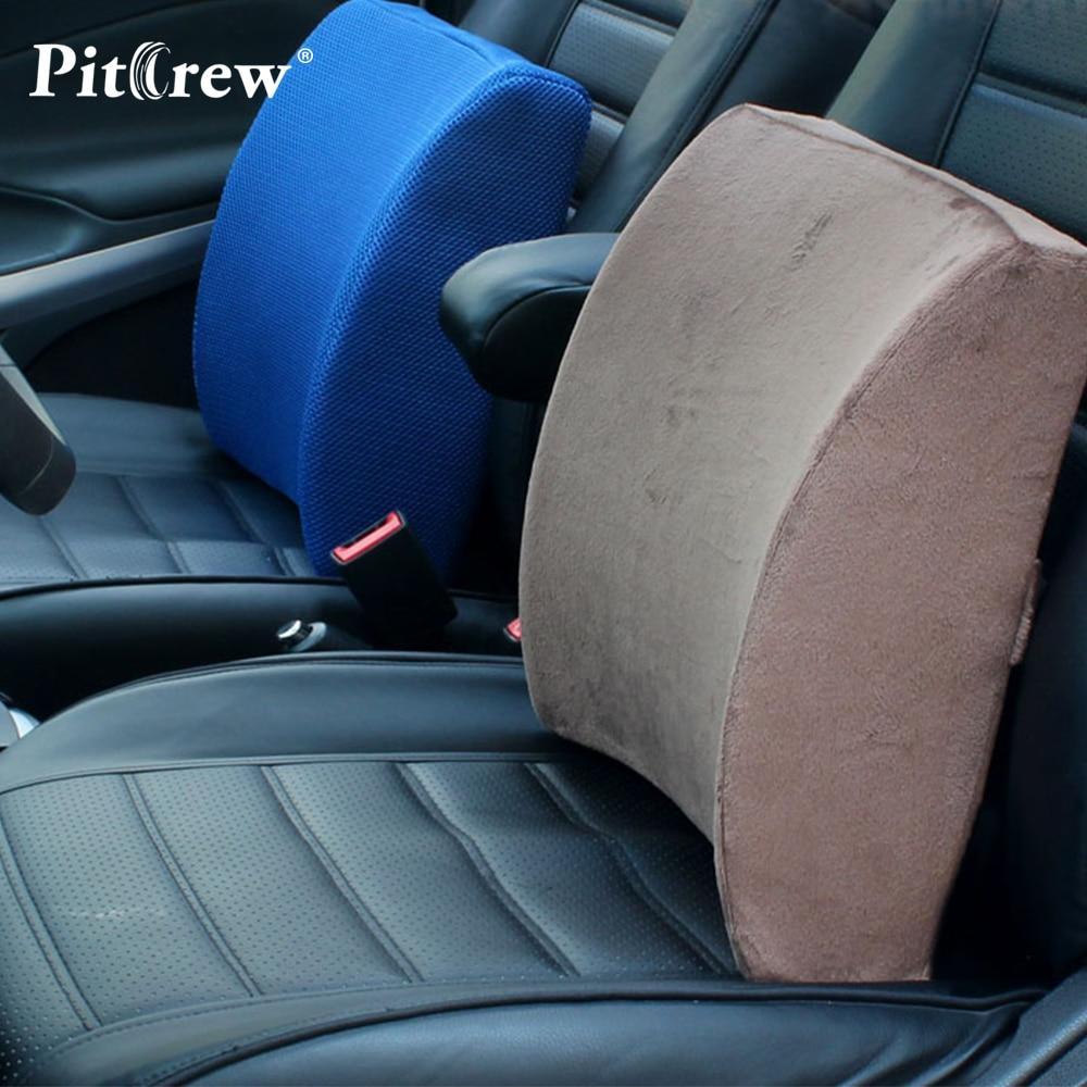 Lumbar Support Soft Memory Foam Cushions Office Seat Car Rest Back Pillow  Chair Waist Sofa Cushion Car Seat Support In Seat Supports From Automobiles  ...