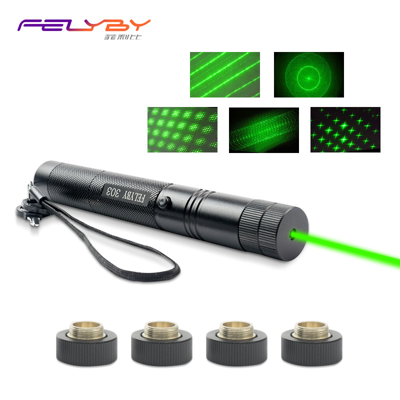 FELYBY laser pointer 532nm green light stars laser pointer flashlight camping tools for  ...